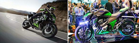 Fotos da Kawasaki Z800