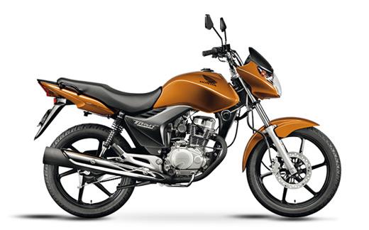 A Honda CG 150 Titan Mix foi a primeira moto flex do mundo