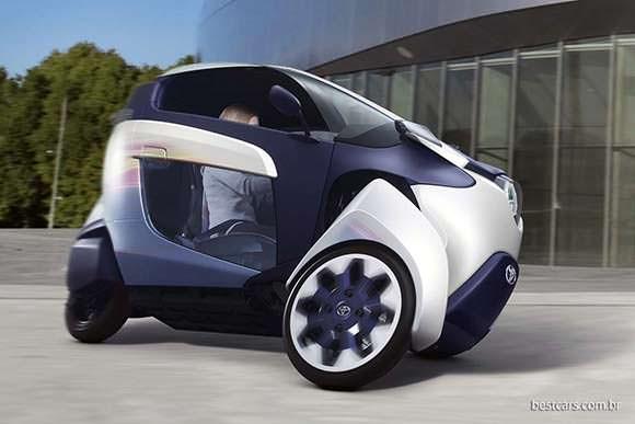 O carro faz curvas como uma moto.