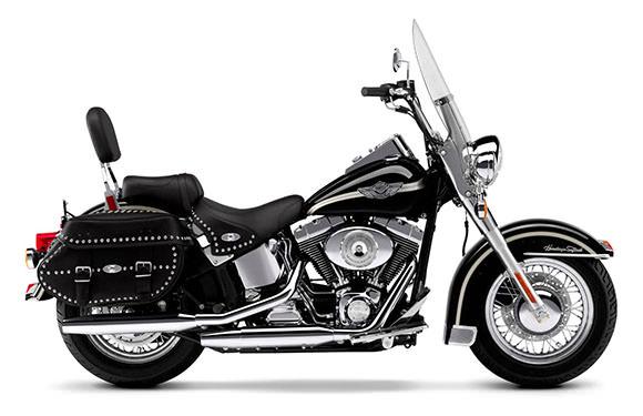 A Harley-Davidson FLSTC está em primeiro lugar entre as motos touring mais emplacadas.