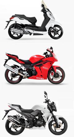 Com o consórcio para motos é possível comprar uma moto Dafra sem entrada e sem juros