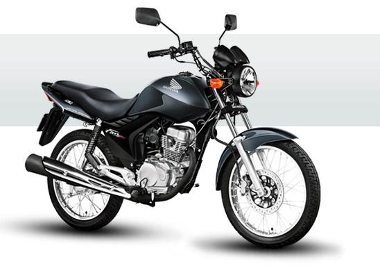 Usando o consórcio é possível comprar uma Honda CG 150 Fan por parcelas de R$120 em 70 meses.