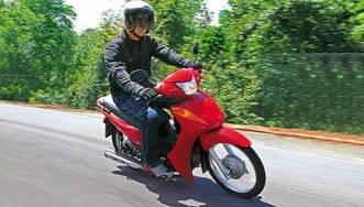 O preço da Honda Biz é de R$ 4,7 mil para a versão KS e R$ 5,3 mil para a versão ES.