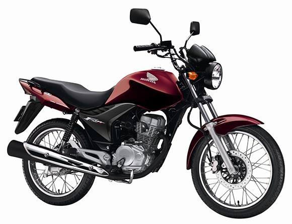 A Honda CG é a moto mais vendida