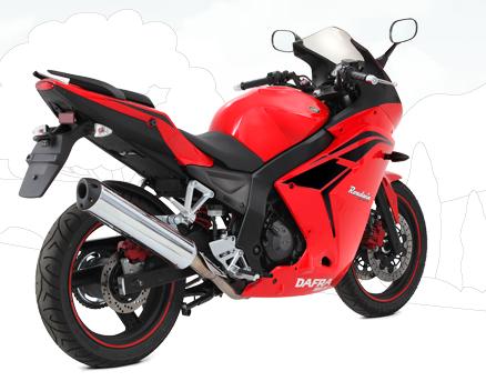 Usando o consórcio para motos, é possível comprar uma Roadwin 250R por R$ 240,27 mensais