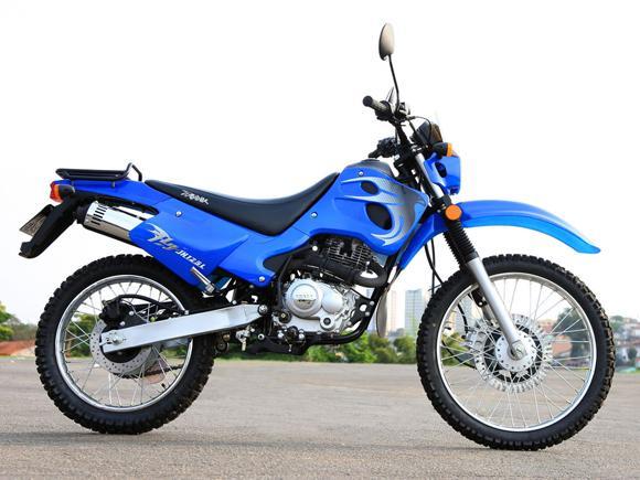 A queda nas vendas de motos Traxx foi maior que a apresentada no mercado duas rodas