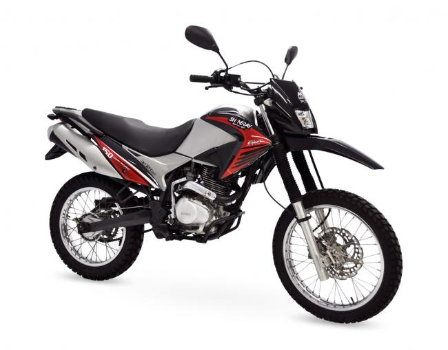 As motos da Shineray são conhecidas pelos preços baixos e pelos modelos de baixa cilindrada