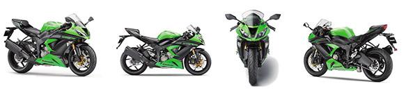 A nova Kawasaki Ninja terá potência máxima de 137 cv a 13.500 rpm e torque máximo de 7,2 kgfm a 11.500 rpm.