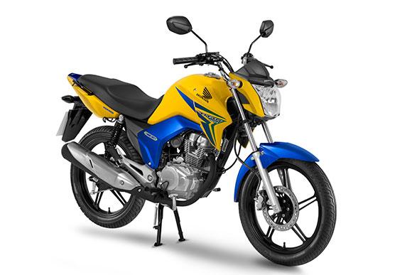 Copa do mundo: Honda lança série especial da CG 150 Titan