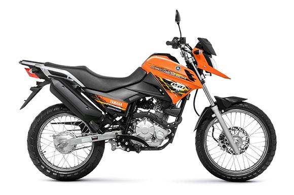 As motos mais vendidas em maio de 2014