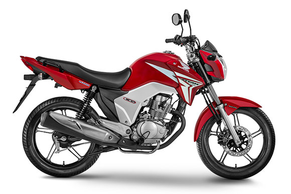 As motos mais vendidas no país em abril de 2015