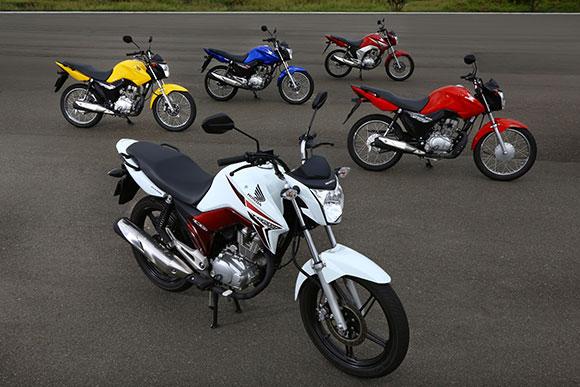 Honda amplia garantia da família CG