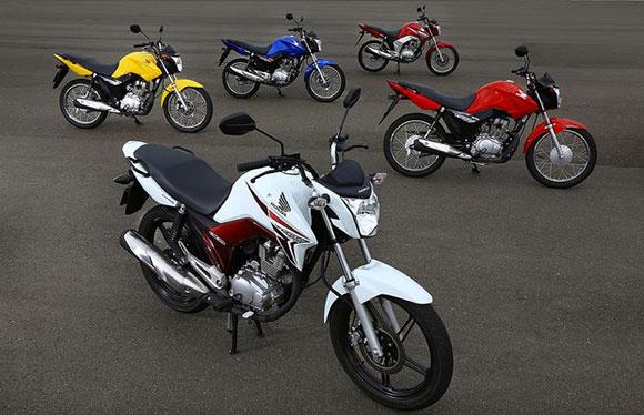 Produção de motos cresce em janeiro