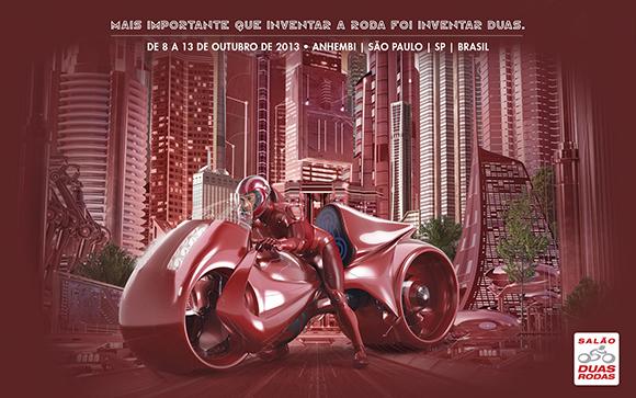 Começa o Salão Duas Rodas 2013!