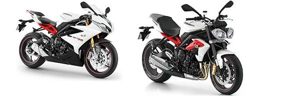 Consórcio moto Triumph