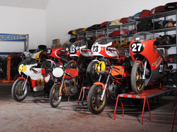 Motos clássicas da Ducati serão leiloadas