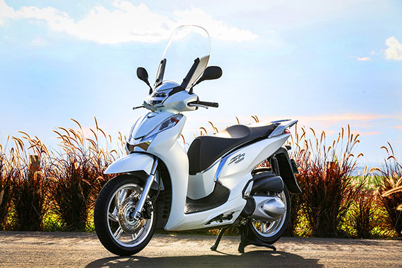 Lançamento: nova scooter Honda SH 300i (Foto: Divulgação)