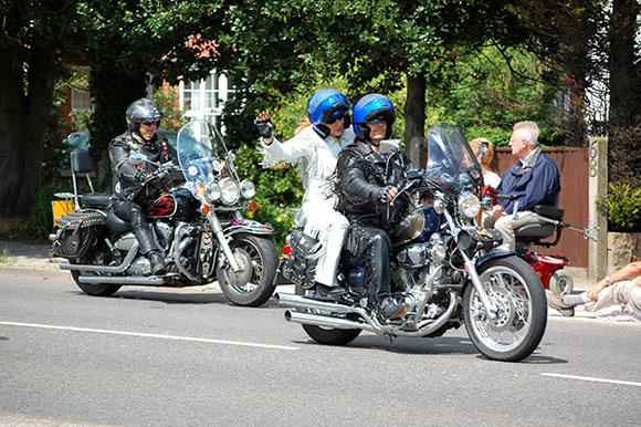Os encontros de motos em março de 2015