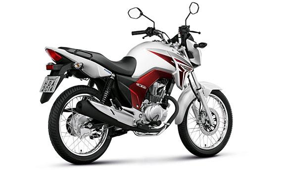 As motos mais vendidas em março de 2014