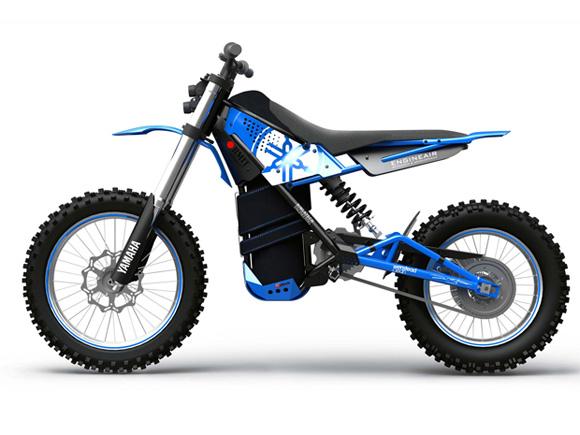 Motocicleta movida a ar comprimido