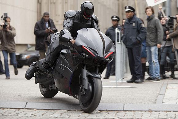 Ficção: a moto superesportiva do Robocop