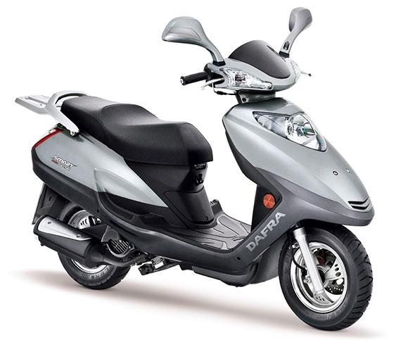 Dafra Motos investe nas scooters para 2014