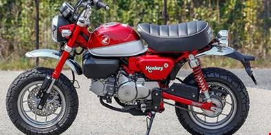 De volta: Honda promete o retorno da Monkey