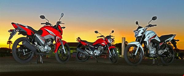 As motos mais vendidas no Brasil em 2016