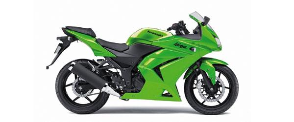 Consórcio Kawasaki Ninja 250R em até 70 meses