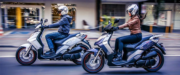 Scooters batem recorde de vendas no Brasil