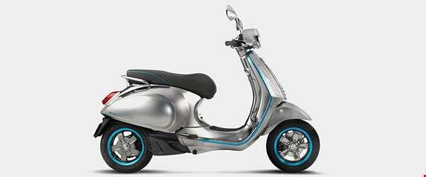 Vespa produz sua primeira moto elétrica