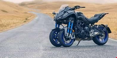 Yamaha inicia pré-venda do triciclo Niken