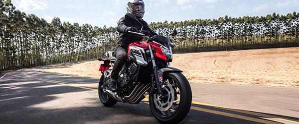 Consórcio de moto Honda CB 650F 2018