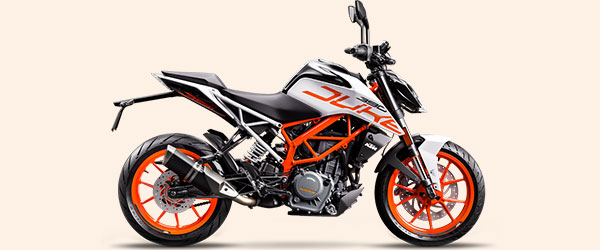 Consórcio de moto KTM 390 Duke 2018