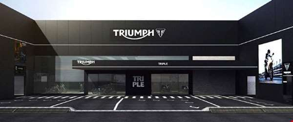 Brasil terá maior concessionária da Triumph no mundo