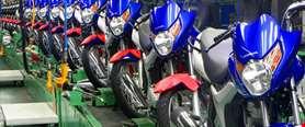 Vendas e produção de motos crescem no 1º semestre de 2019