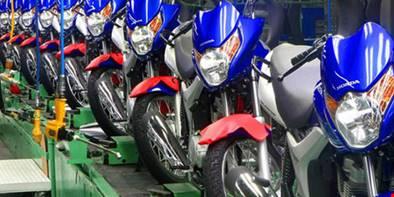 1 milhão de unidades? Produção de motos cresce no Brasil