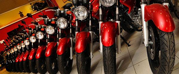 As motos mais emplacadas no Brasil em setembro de 2017