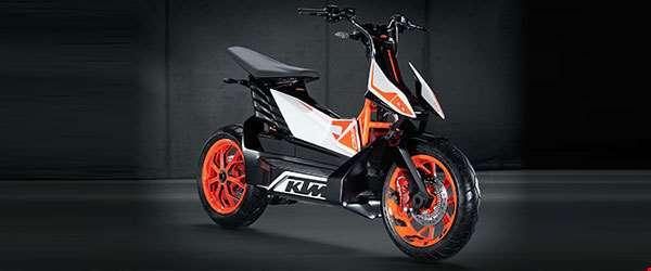 Compre pelo consórcio: KTM lança scooter elétrico
